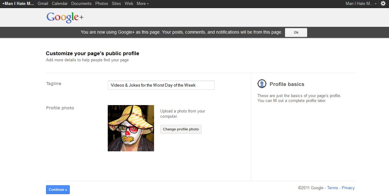 Google+ for Business - Step 5